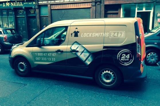 Locksmith Rathgar Mobile Van